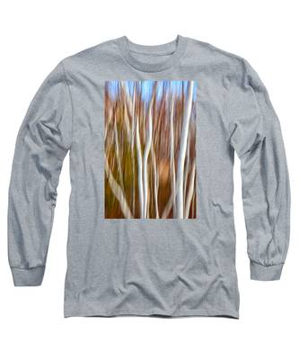 Birch Abstract No. 5 Long Sleeve T-Shirt