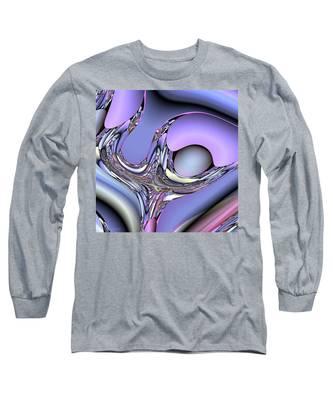 Bird Nest Fractal Long Sleeve T-Shirt