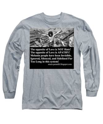Black Lives Long Sleeve T-Shirt