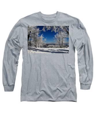 Blue Knob Long Sleeve T-Shirt