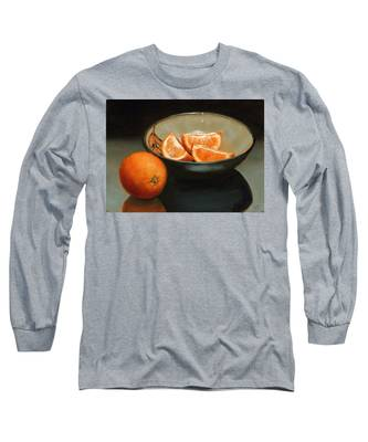 Bowl Of Oranges Long Sleeve T-Shirt