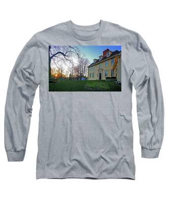 Buckman Tavern At Sunset Long Sleeve T-Shirt