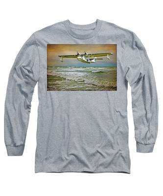 Catalina Flying Boat Long Sleeve T-Shirt