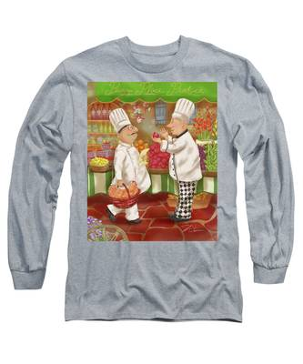 Chefs Go To Market Iv Long Sleeve T-Shirt