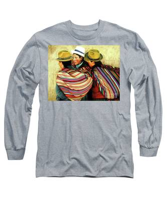 Ekaterina Stoyanova Long Sleeve T-Shirts