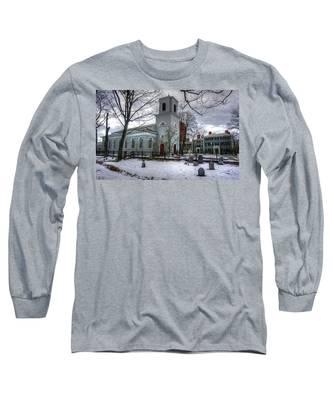 Christ Church In Cambridge Long Sleeve T-Shirt