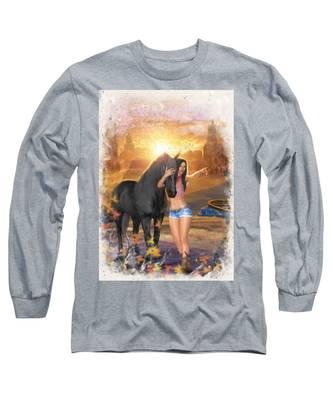 Country Memories 2 Long Sleeve T-Shirt