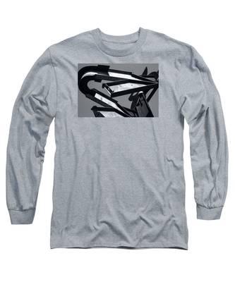 Crissy Field Iron Scuplture Long Sleeve T-Shirt