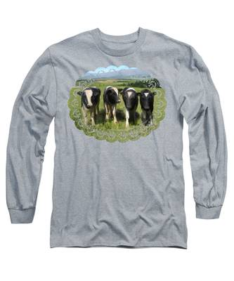 Curious Cows Long Sleeve T-Shirt