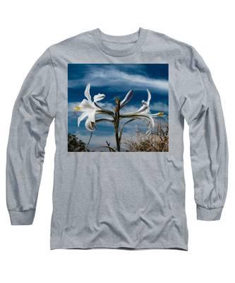 Desert Lilly Close Up Long Sleeve T-Shirt