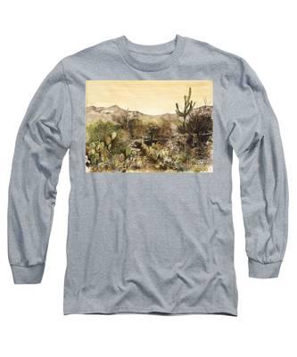 Desert Walk Long Sleeve T-Shirt