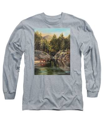 Down By The Pemigewasset River Long Sleeve T-Shirt