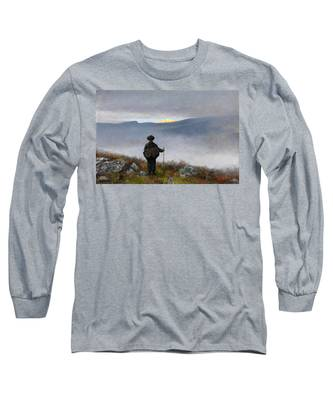 Far Far Away Soria Moria Palace Shimmered Like Gold Long Sleeve T-Shirt