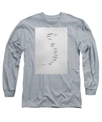 Flow Of The Pelican Long Sleeve T-Shirt