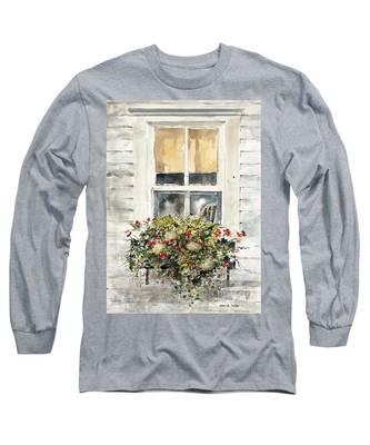 Flower Box Long Sleeve T-Shirt