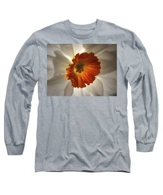 Flower Narcissus Long Sleeve T-Shirt