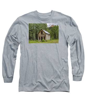 Ghost Town Schoolhouse Long Sleeve T-Shirt