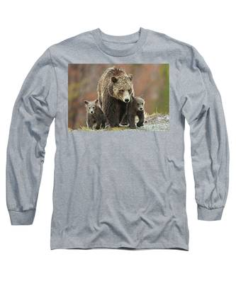 Grizzly Family Long Sleeve T-Shirt