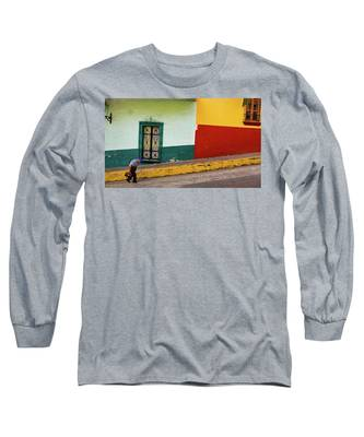 Long Sleeve T-Shirt featuring the photograph Hard Knock Life by Skip Hunt