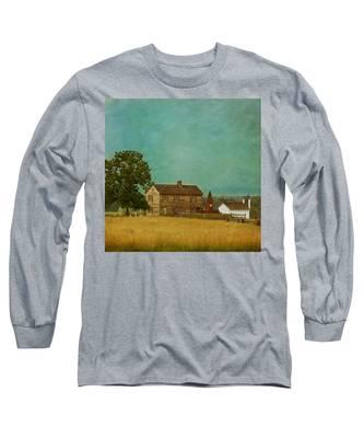 Henry House At Manassas Battlefield Park Long Sleeve T-Shirt