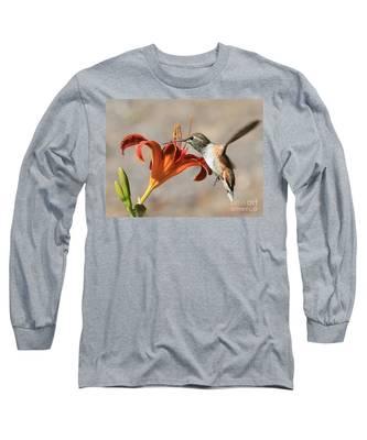 Hummingbird Whisper  Long Sleeve T-Shirt