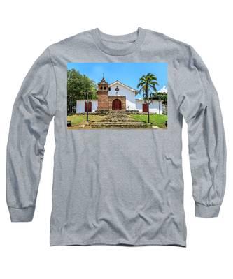 Iglesia De San Antonio Long Sleeve T-Shirt