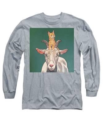 Keira The Kitten Long Sleeve T-Shirt