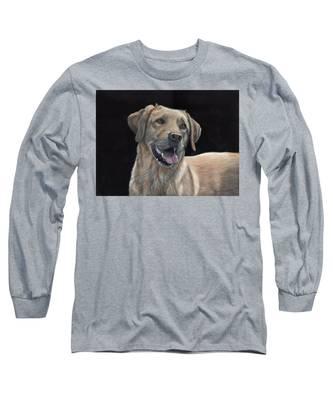 Labrador Portrait Long Sleeve T-Shirt