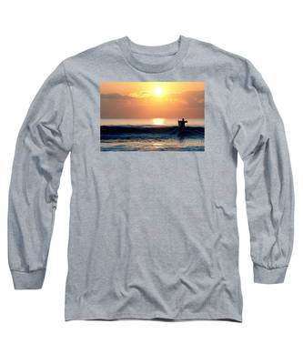 Llangennith Last Wave Long Sleeve T-Shirt