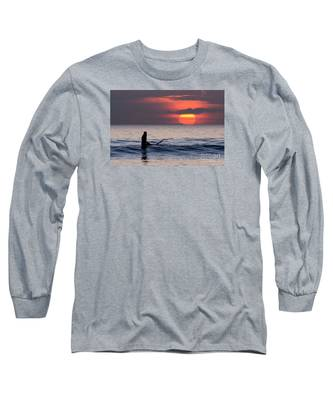 Llangennith One More Wave Long Sleeve T-Shirt