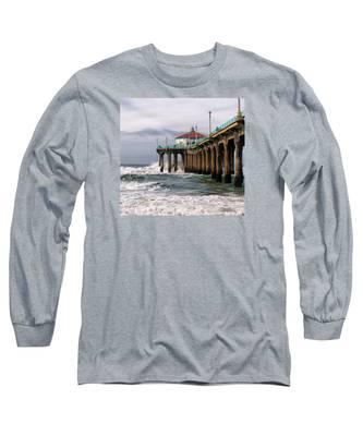 Manhattan Pier Surf Long Sleeve T-Shirt