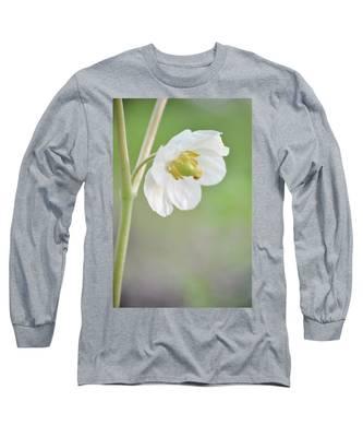Mayapple Flower Long Sleeve T-Shirt