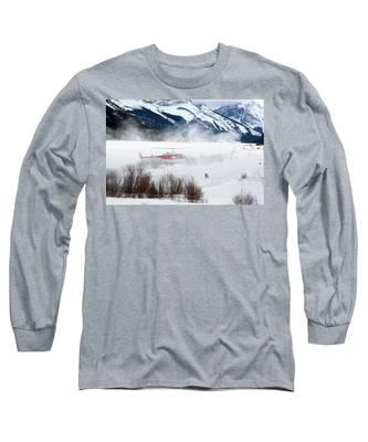 Mountain Landing Long Sleeve T-Shirt
