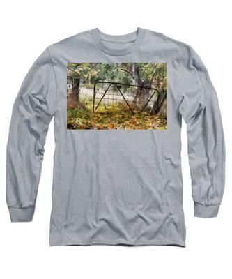 Old Farm Gate Long Sleeve T-Shirt