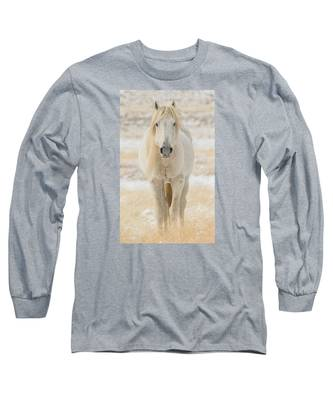 Old Man In Winter Long Sleeve T-Shirt