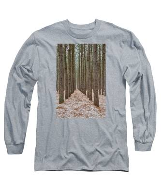 Peaceful Pines Long Sleeve T-Shirt