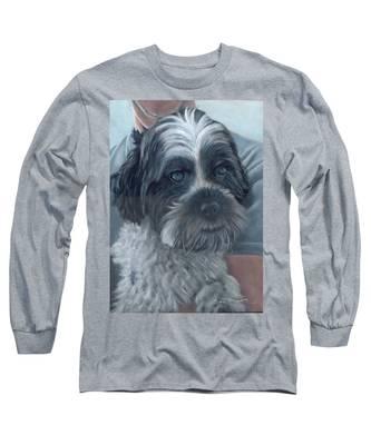 Portrait Of Charley Long Sleeve T-Shirt