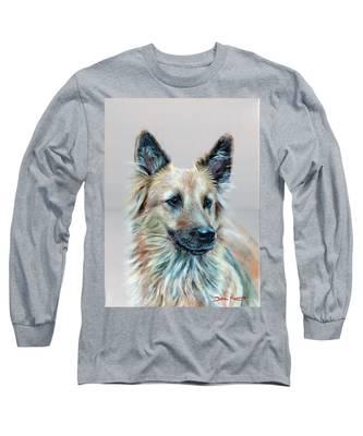 Portrait Of Sasha Long Sleeve T-Shirt
