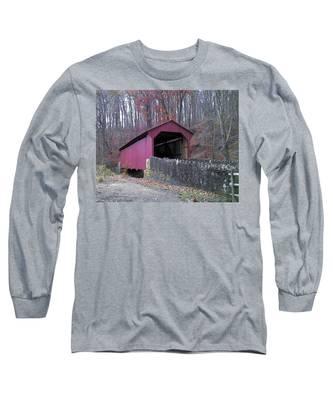 Red Bridge Long Sleeve T-Shirt