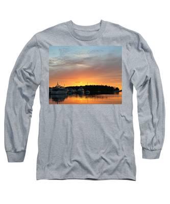 Roche Harbor Sunset Long Sleeve T-Shirt