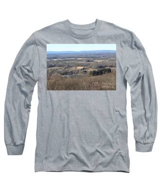 Rt 80 Scenic Ovelook Allamuchy 2 Long Sleeve T-Shirt