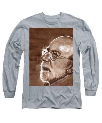 Sketch Of Bill Long Sleeve T-Shirt