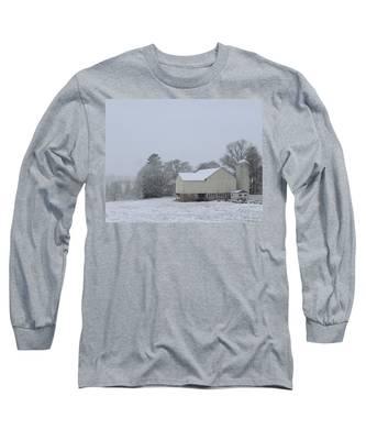 Winter White Farm Long Sleeve T-Shirt