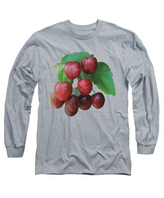 Sour Cherry Long Sleeve T-Shirt
