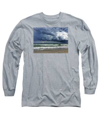 Stormy Ocean Long Sleeve T-Shirt