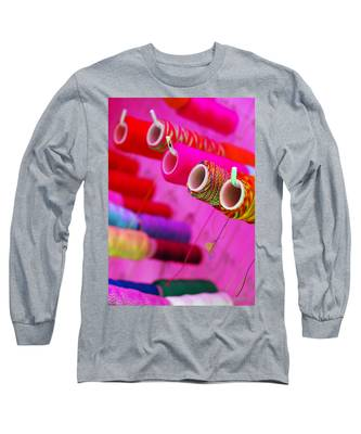 Long Sleeve T-Shirt featuring the photograph String Theory by Skip Hunt