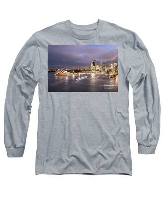 Stunning Sydney Long Sleeve T-Shirt by Didier Marti