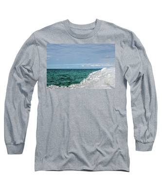 Stunning Turquoise, Green, And Blue Long Sleeve T-Shirt