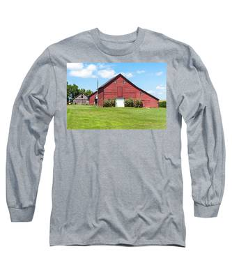 Sun Flower Barn Long Sleeve T-Shirt