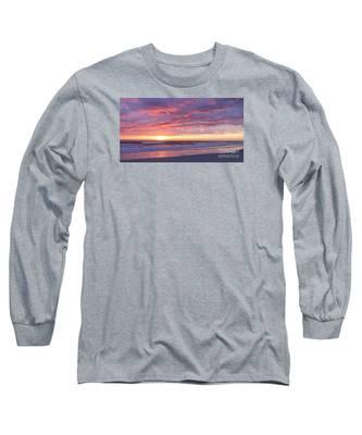 Sunrise Pinks Long Sleeve T-Shirt